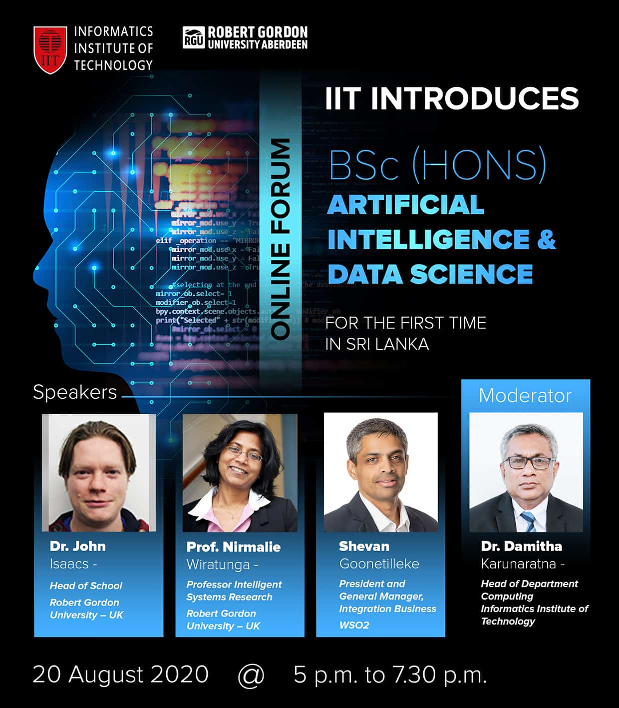 AI & Data Science - Virtual Forum-IIT