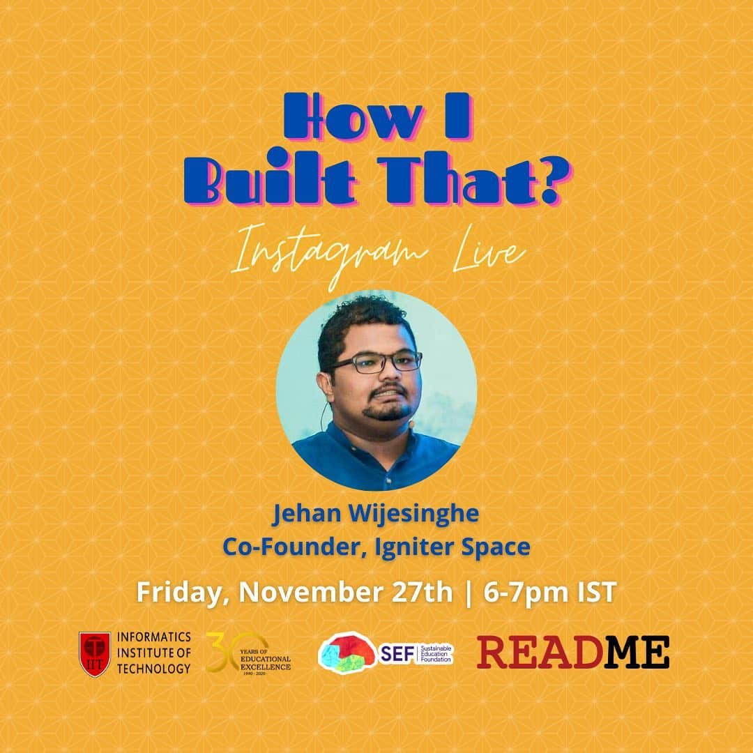 How I Built That (with Jehan Wijesinghe)
