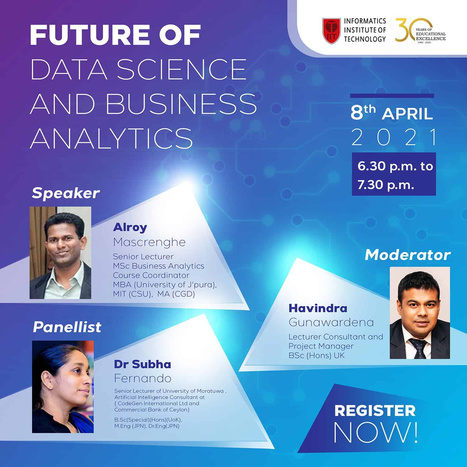 Future of Data Science and Business Analytics