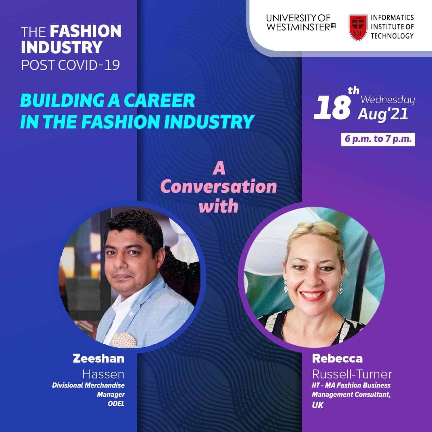 Building a Career in the Fashion Industry